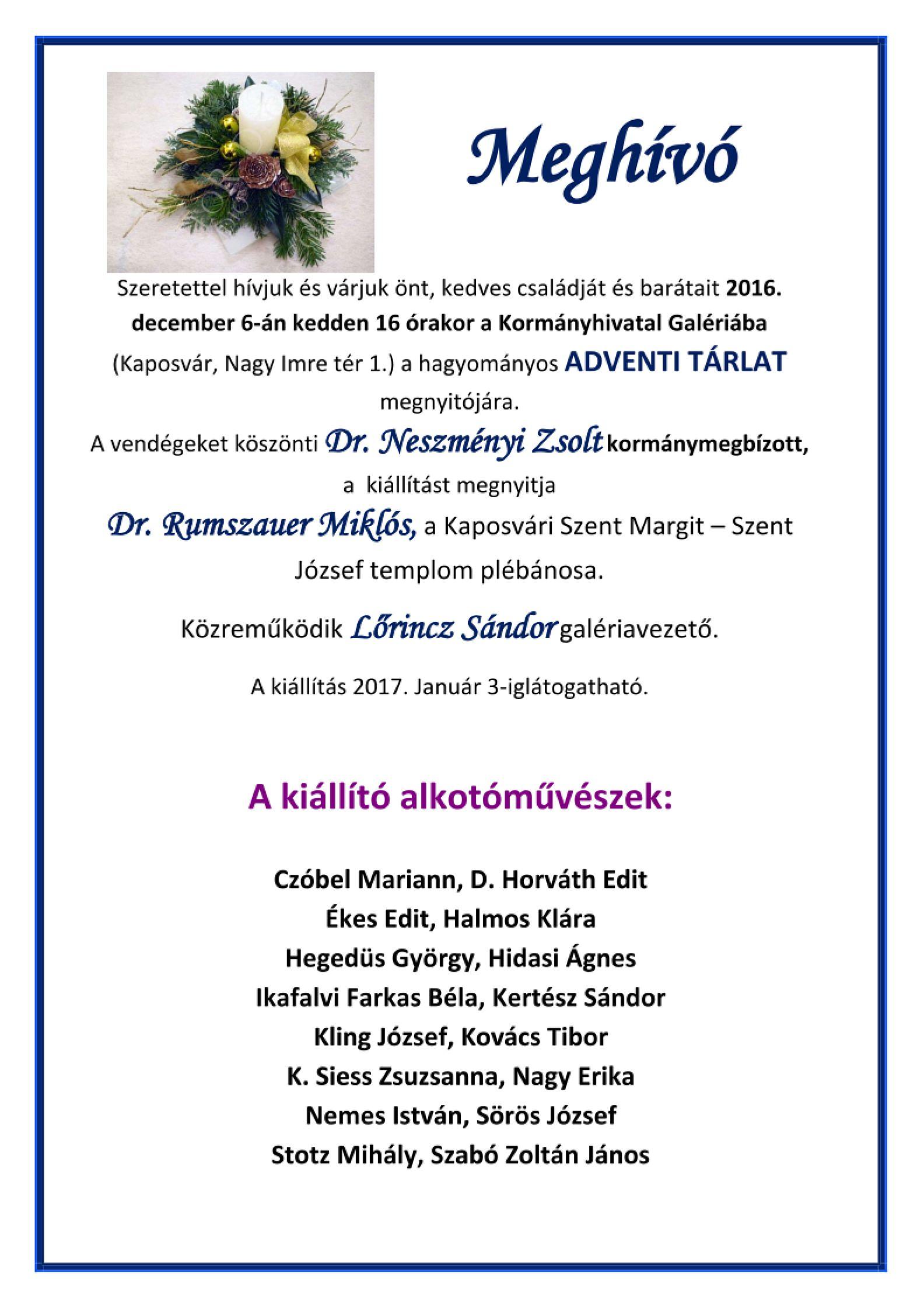 advent-kaposvar